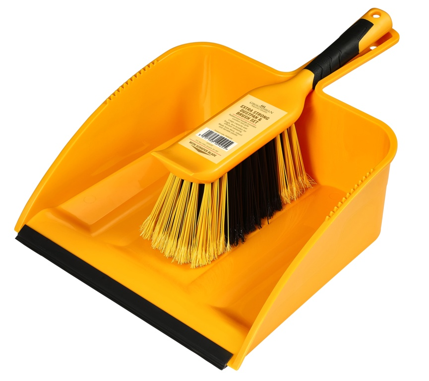 Groundsman Heavy Duty Dustpan And Brush