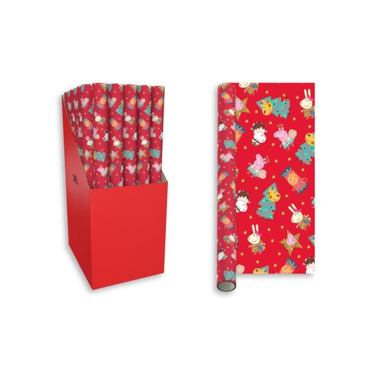 I G Design 3m Gift Wrap - Peppa Pig