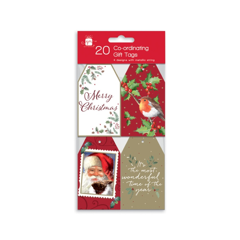 I G Design 20 Gift Tags - Elegant