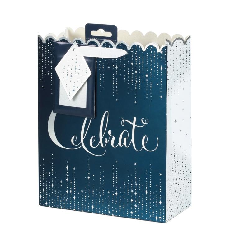 I G Design Gift Bag Medium - Midnight Celebration