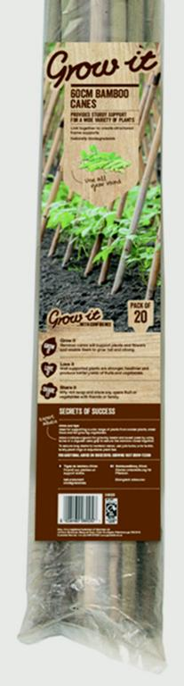 """Westland Grow It Bamboo Canes - 240cm 94"""" 10 Pack"""
