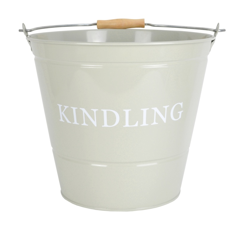Manor Kindling Bucket - Olive
