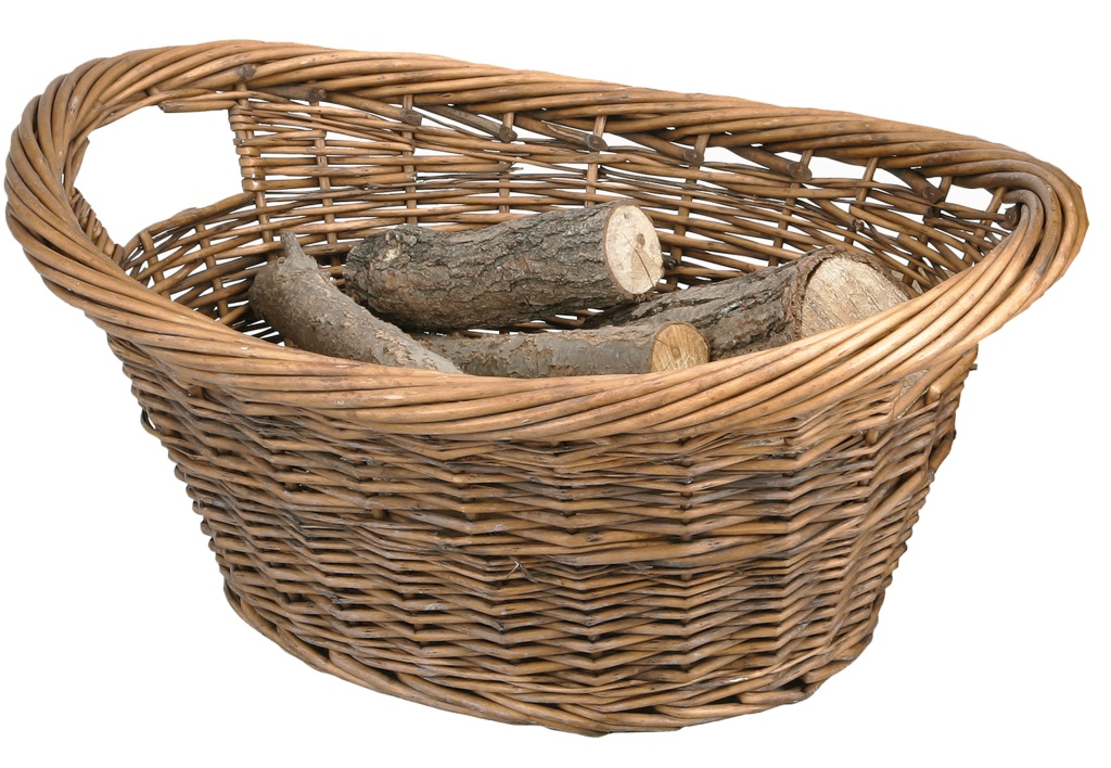 Manor Log Basket - Cradle