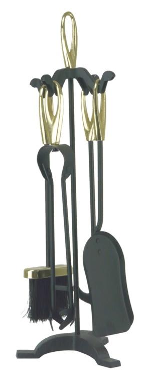 Manor Orion Loop Companion Set - Black/Brass