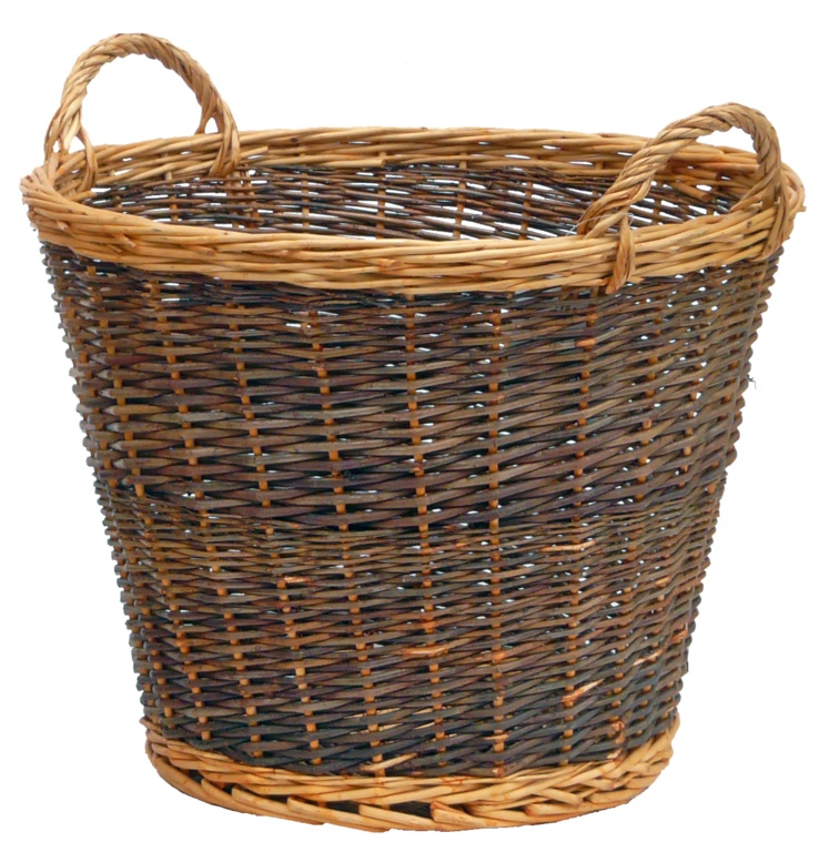 Manor Log Basket - Duo Tone