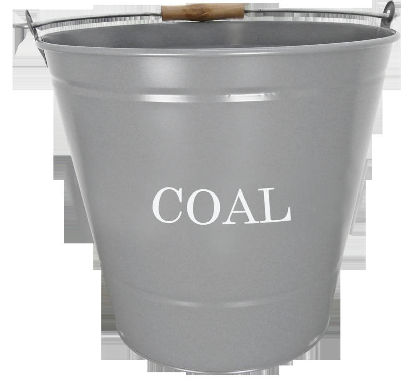 Manor Coal Bucket - Grey