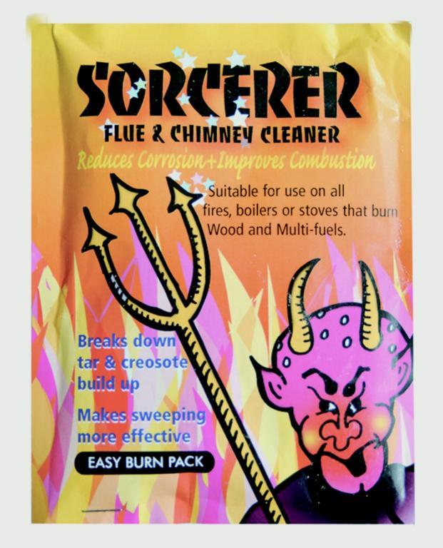 Manor Sorcerer Flue & Chimney Cleaner - 90g