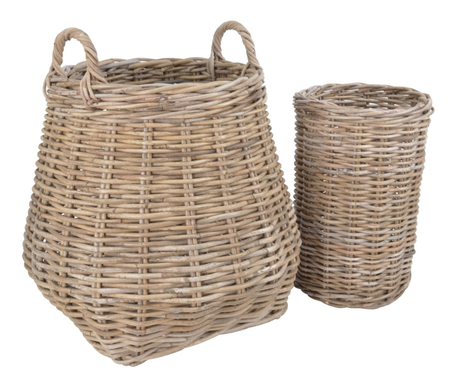 Manor Berkeley Rattan Basket - Set 2