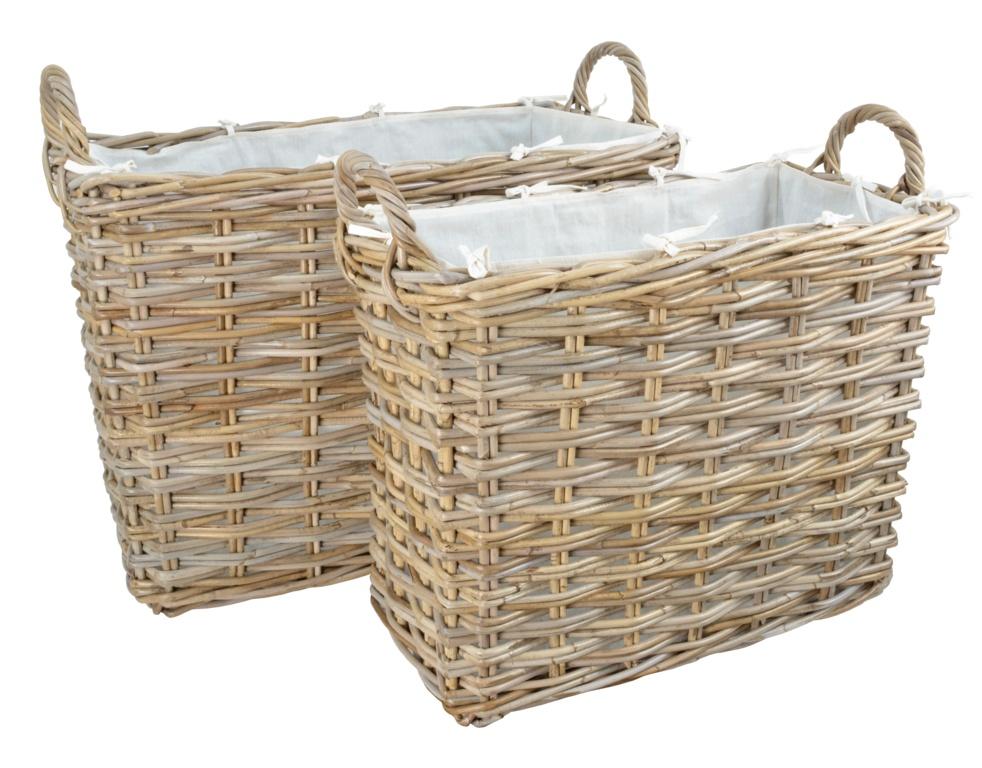 Manor Sheraton Rattan Basket - Set 2