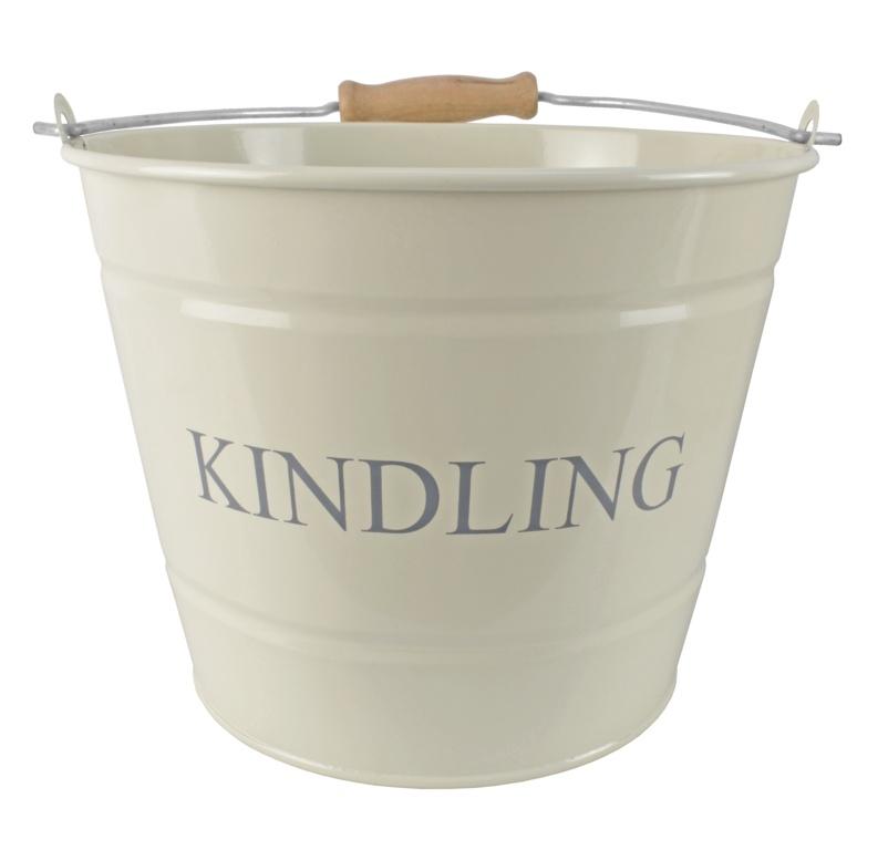 Manor Small Kindling Bucket - Cream