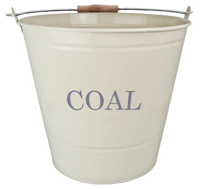 Manor Coal Bucket - Cream