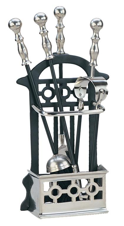Manor Victorian Companion Set - Black/Pewter