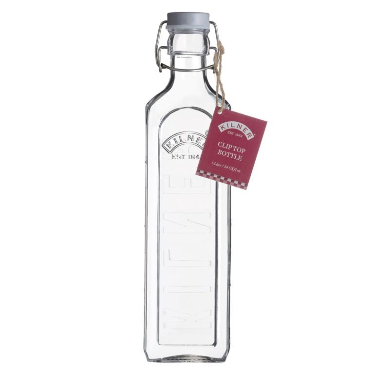 Kilner New Clip Top Bottle - 1L