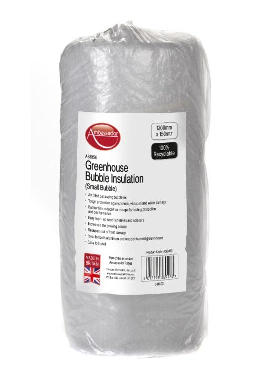 Ambassador UV Small Bubble Insulation - 1200mm x 150m