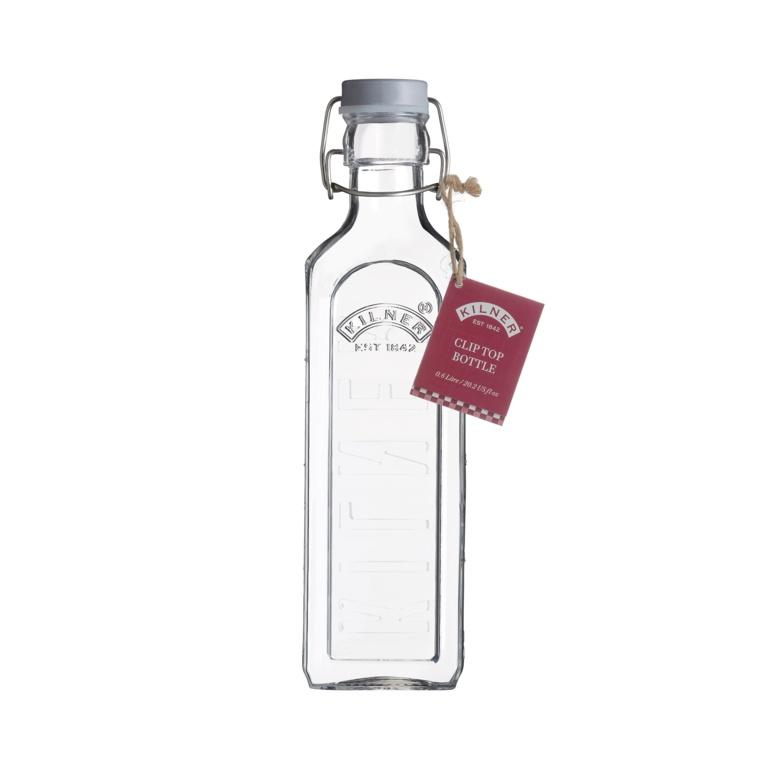 Kilner New Clip Top Bottle - 0.6L