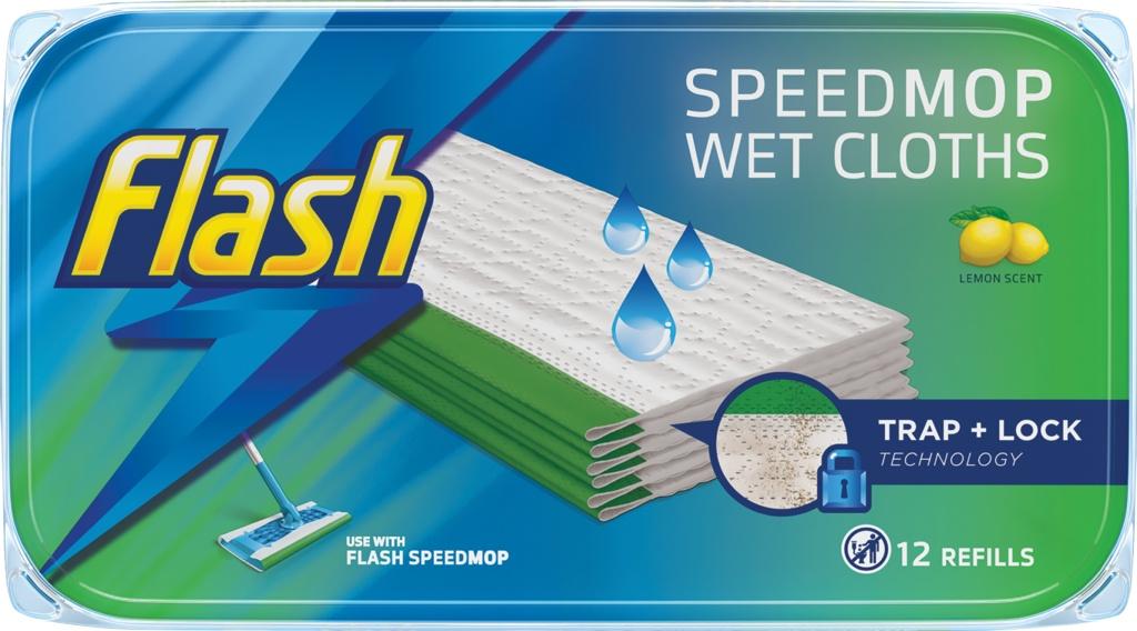 Flash Speedmop Refill Pads - Pack 12