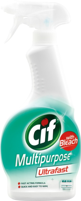 Cif Ultra Fast Multi Bleach Spray - 450ml