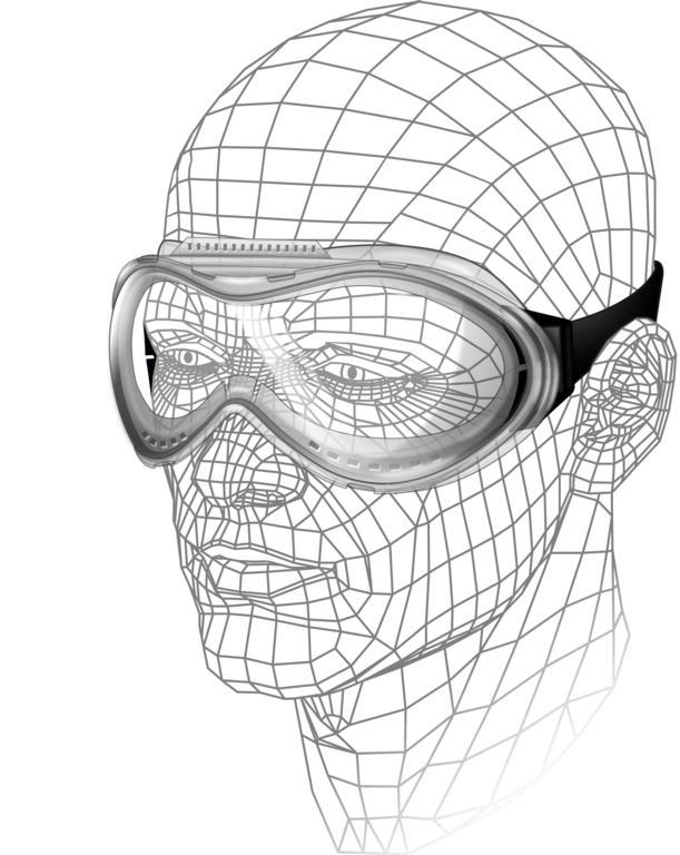 Vitrex Deluxe Safety Goggles