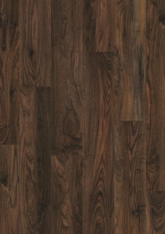Quickstep Vitality 4V Aqua Protect Laminate Floor - Walnut 8mm