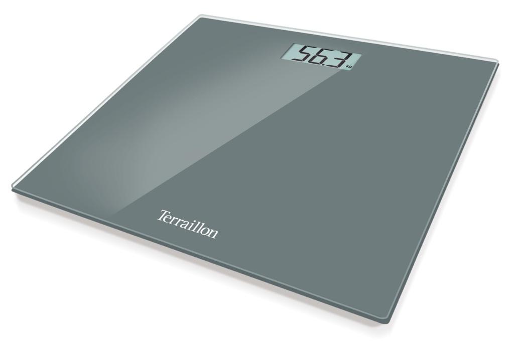 Terraillon Bathroom Scale - Dark Grey
