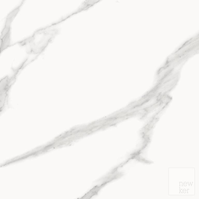 Newker Statuario Wall Floor 60 x 60cm - Matt White 1.08m2