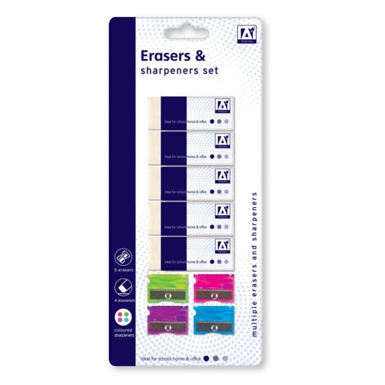 Anker Stat Eraser And Sharpener Set