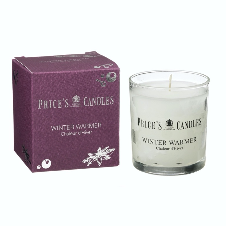 Prices Candle Jar - Winter Warmer