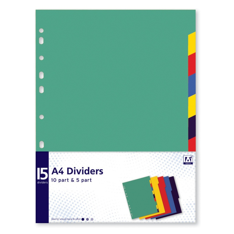 Anker A4 Dividers - Pack 15