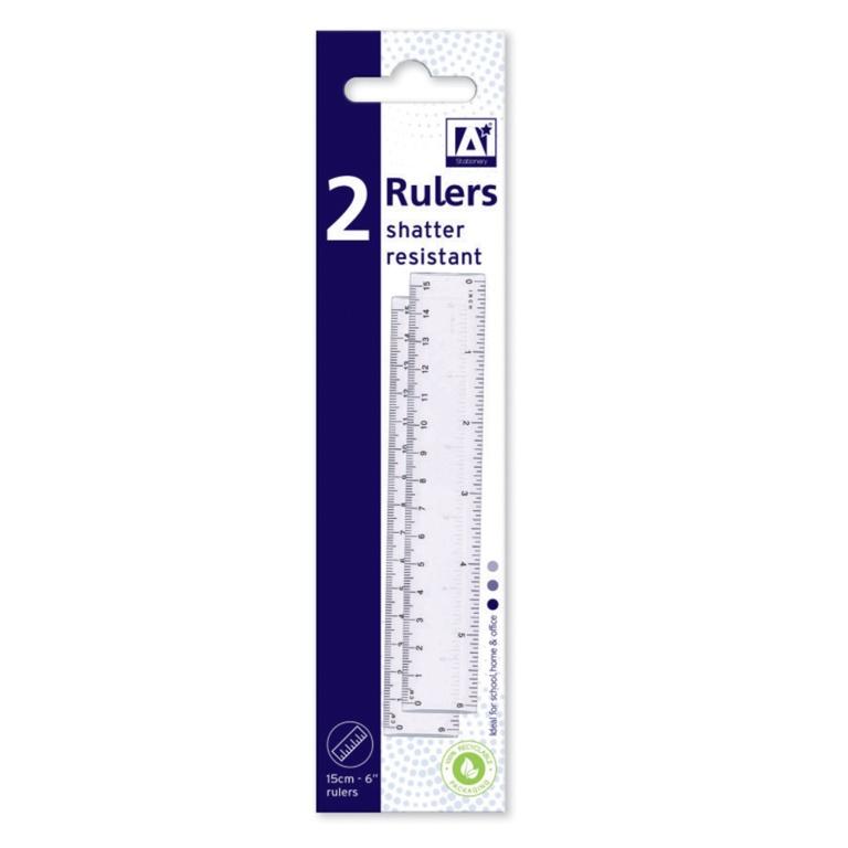 """Anker 6"""" Ruler - Pack 2"""