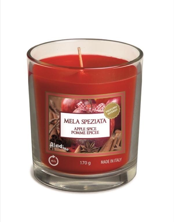 Aladino Medium Candle Jar - Apple Spice