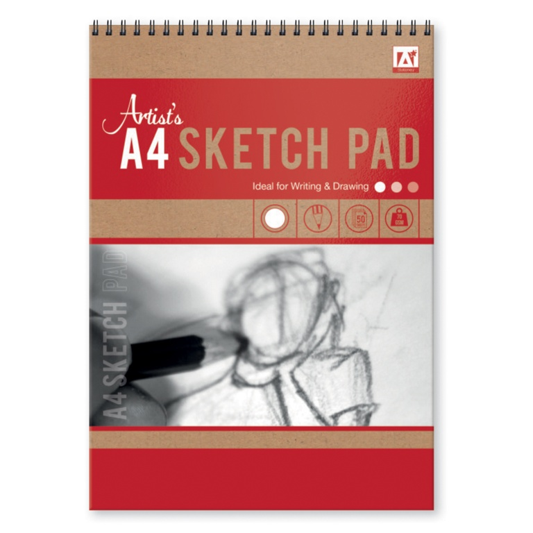 Anker A4 Sketch Pad - 20 GSM 50 Sheets