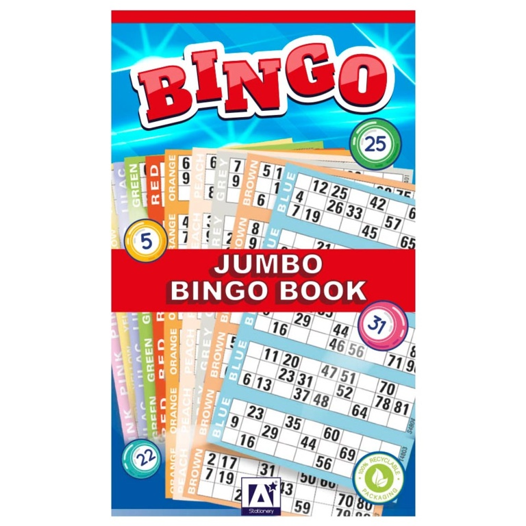 Anker Bingo Ticket Books - 1 - 480