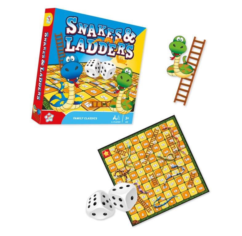 Anker Snakes & Ladders Game