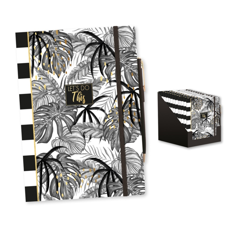 Anker A5 Notebook & Pen - Tropical Noir