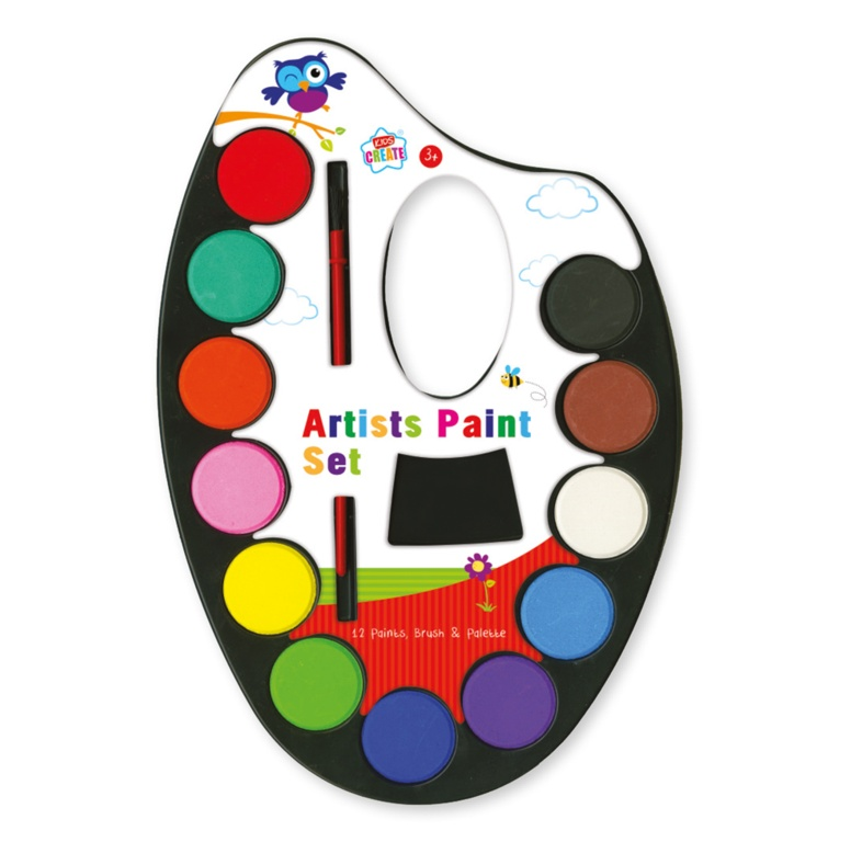 Anker Paint Palette With Paints