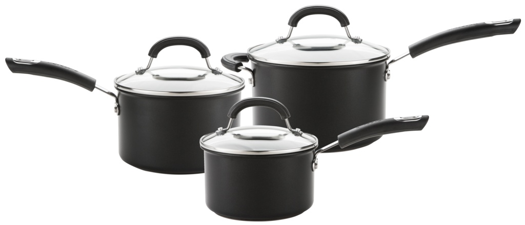 Circulon Total Hard Anodized Pan Set - 3 Piece