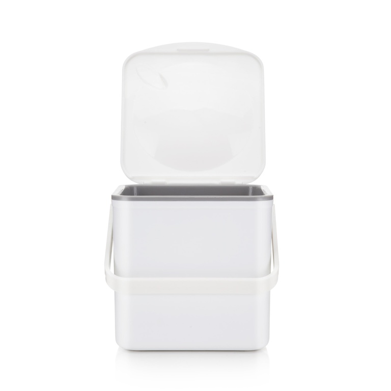 Minky Compost Food Waste Caddy - White