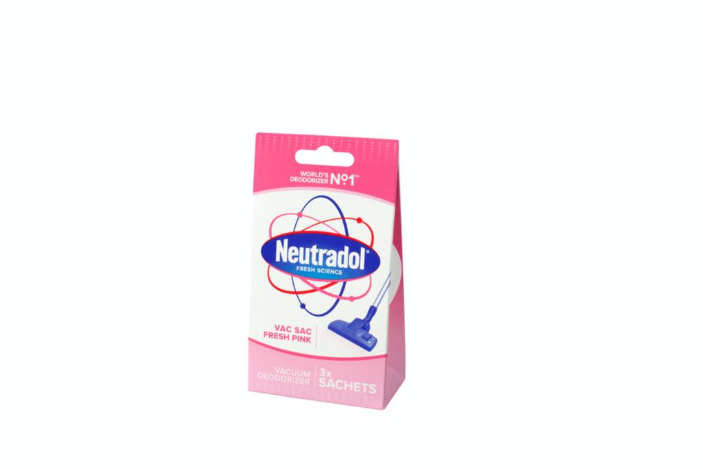 Neutradol Vacuum Deodorizer Pack 3 - Fresh Pink