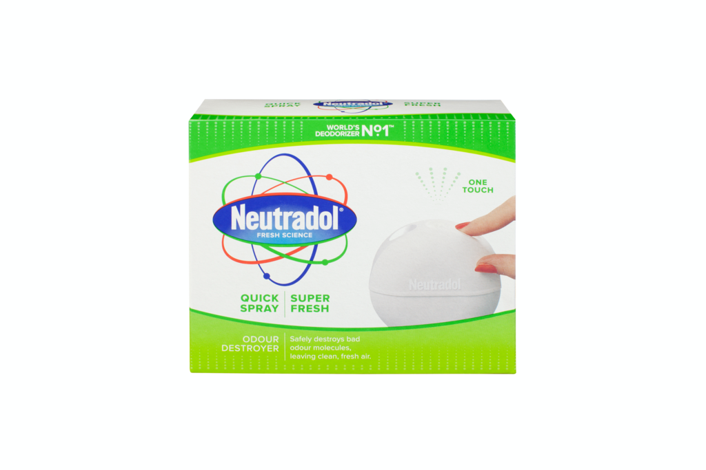 Neutradol Quick Spray Deodoriser 50ml - Super Fresh