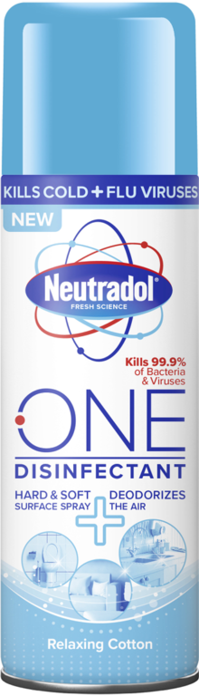Neutradol One Disinfectant 300ml Spray - Relaxing Cotton
