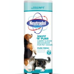 Neutradol Sniff 'N' Purr Carpet Deodorizer - 350g Pure Fresh