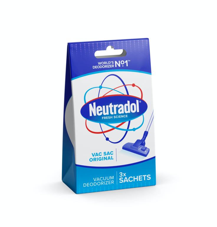 Neutradol Vacuum Deodorizer Pack 3 - Original