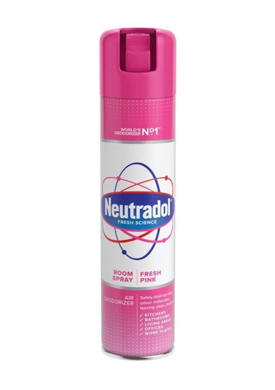 Neutradol Deodorisor Fresh Pink - 300ml Aerosol