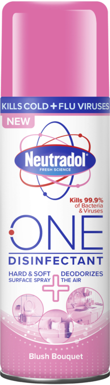 Neutradol One Disinfectant 300ml Spray - Blush Bouquet