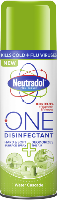 Neutradol One Disinfectant 300ml Spray - Water Cascade