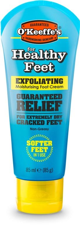 O'Keeffe's Healthy Feet Exfoliating Moisturising Foot Cream - 85g Tube