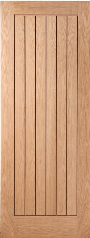 """Cheshire Mouldings Budworth Oak Door - 78 x 27"""""""