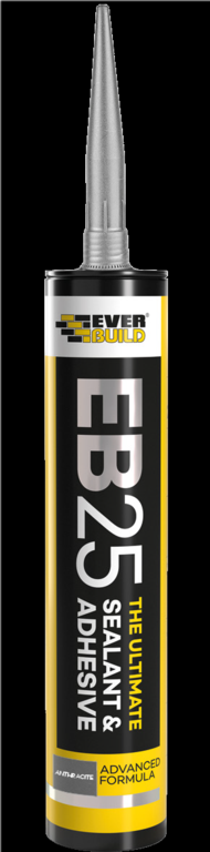 Everbuild Ultimate Sealant & Adhesive - Anthracite 300ml