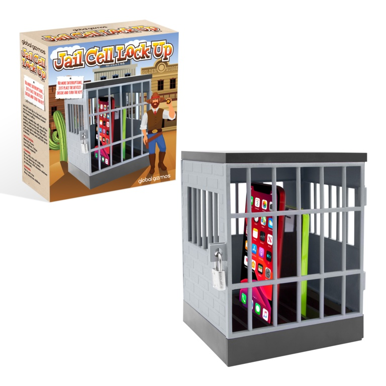 Global Gizmos Phone Jail Cell Lock Up