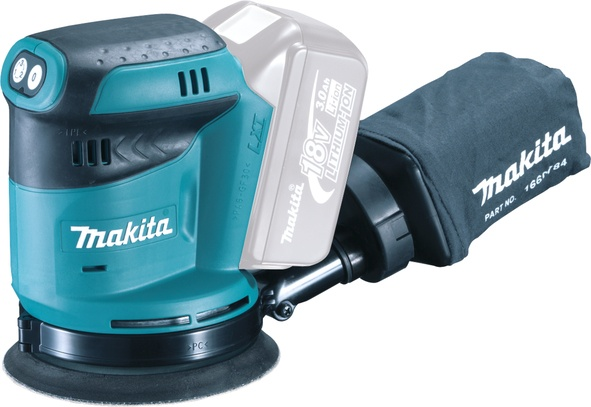 Makita Lxt Random Orbit Sander Bare Unit - 18v